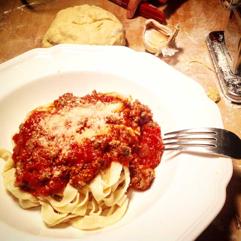 classic home made pasta