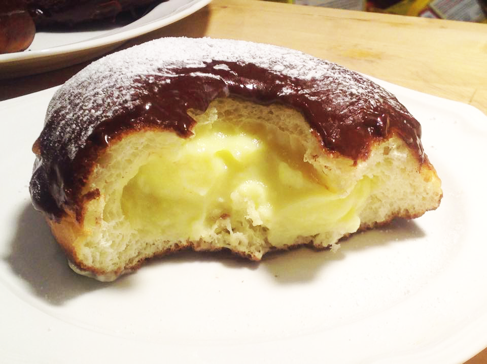 Boston Cream donut