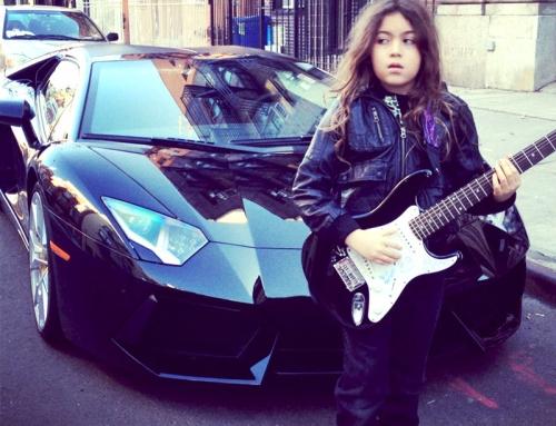 Guitar and Car