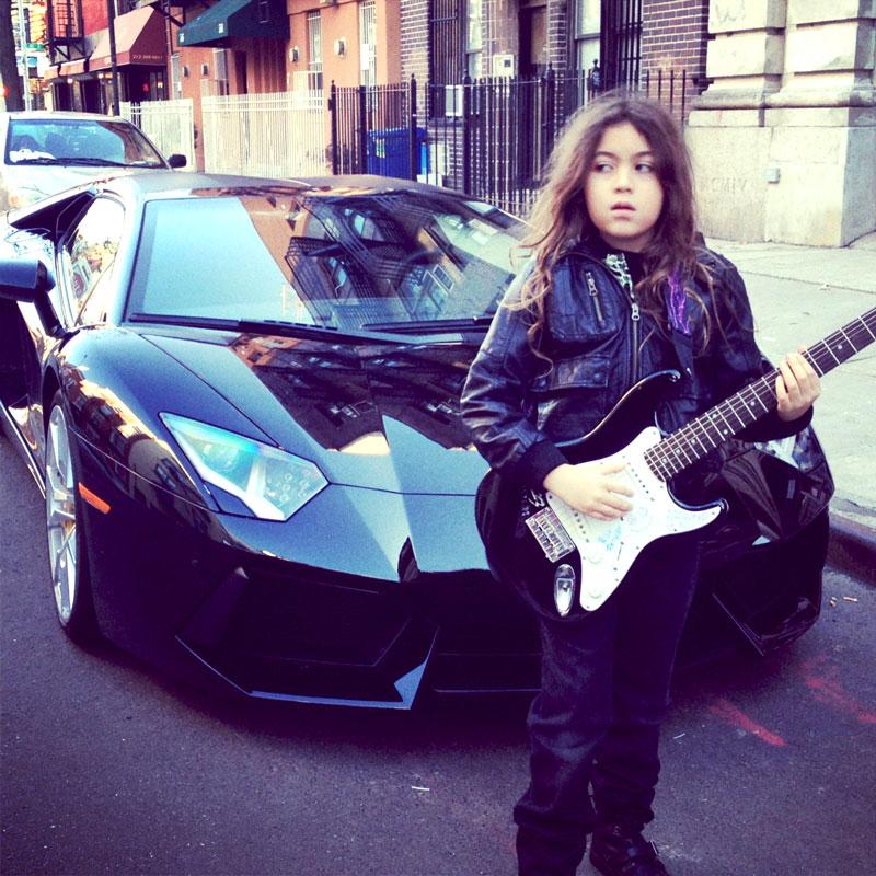 Jesse Gunn and Car