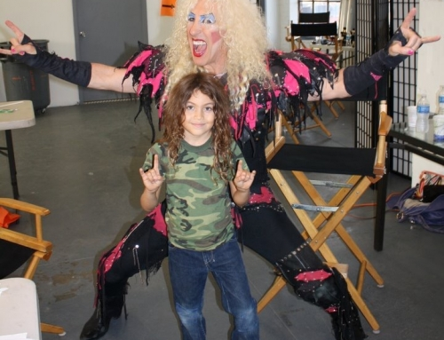 The one and only Dee snider from Twisted Sister