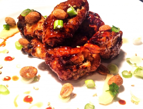 Sticky sweet wings